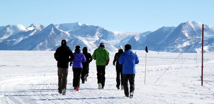 南極アイスマラソン